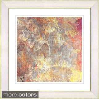 Studio Works Modern 'Pastel Liana - Pale Orange' Framed Fine Art Print