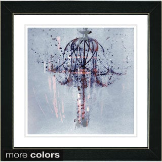 Studio Works Modern 'Chandelier' Framed Fine Art Print