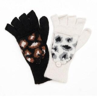 Nico Alpaca Wool Glitton Convertible Gloves (Bolivia)