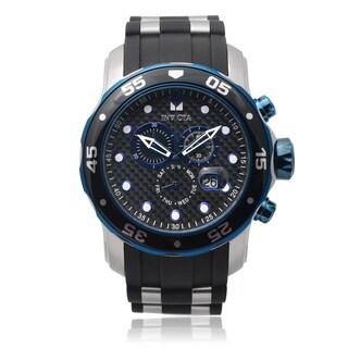 Invicta Men's 17878 Pro Diver Chronograph Silicone Band Watch