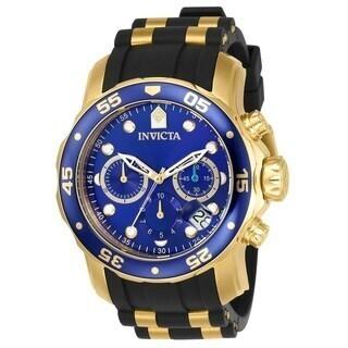 Invicta Men's 17882 Pro Diver Quartz Chronograph Silicone Band Watch
