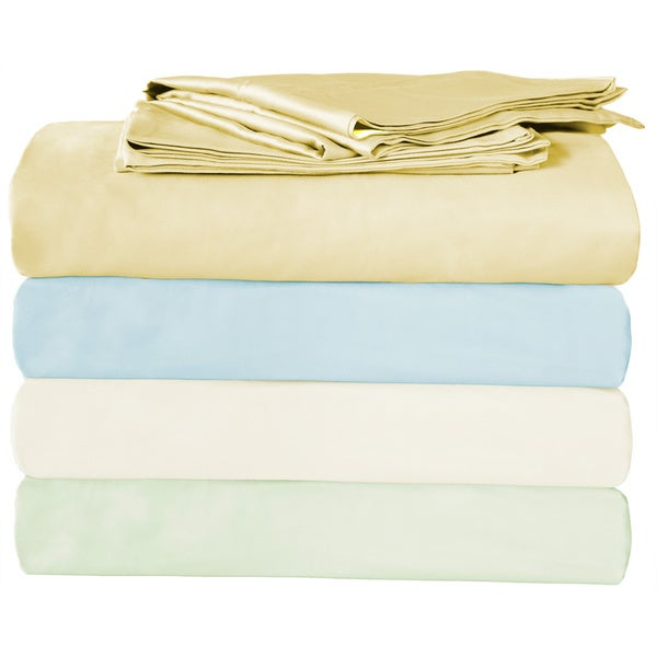 Organic Cotton Double Pick Sheet Set
