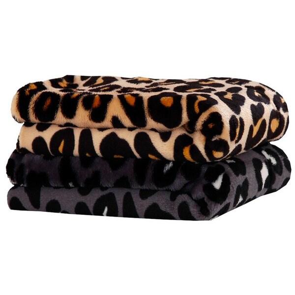 Cheetah Print Supreme Comfort Plush Sheet Set