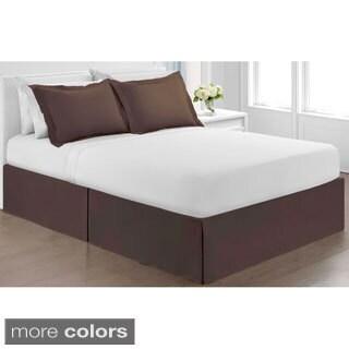 Hawthorne Microfiber Bedskirt Solid Color