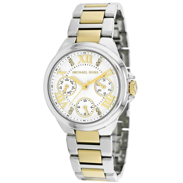 Michael Kors Women's MK5760 Mini Camille Two Tone Stainless Steel Watch