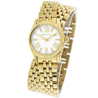 Michael Kors Women's MK3269 Lexington Double Wrap Goldtone Watch