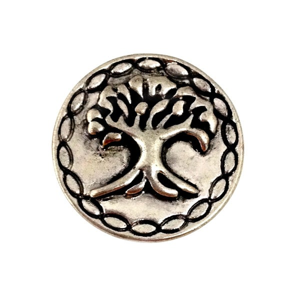 Bleek2sheek Snap-a-doo Tree of Life Snap Chunk Charm