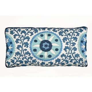 The Olivia Blue/ White Decorative Pillow