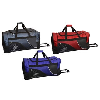 Beverly Hills Polo Club 29-inch Rolling Upright Duffel Bag