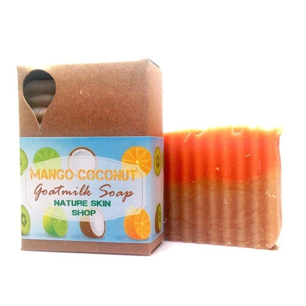 Mango Coconut Goat Milk Soap