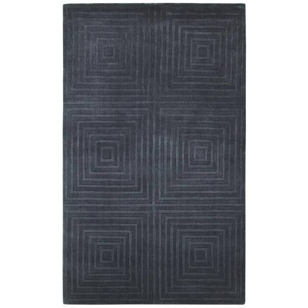 Couristan Matrix Abyss Plum Rug (5' x 8')