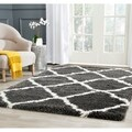 review detail Safavieh Belize Shag Charcoal/ Ivory Rug (8'6 x 12')