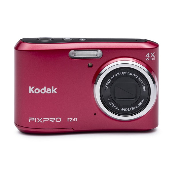 Kodak PIXPRO FZ41 16MP Red Digital Camera