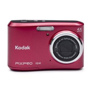 Kodak PIXPRO FZ41 16MP Red Digital Camera
