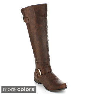 Forever Women's 'Legend-23' Knee-high Riding Boots