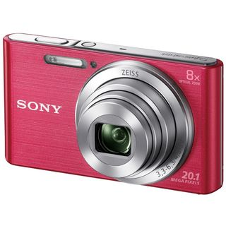 Sony DSC-W830 20MP Pink Digital Camera