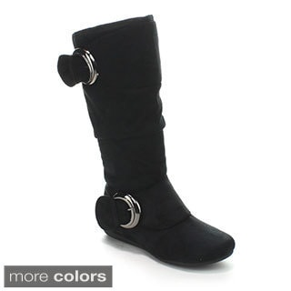 Forever Women's 'Klein-85' Slouchy Knee-high Boots