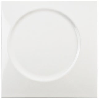 SomerTile 8x8-inch Circe White Ceramic Wall Tile (Case of 25)