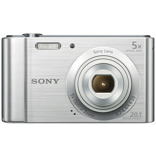 Sony Cyber-shot DSC-W800 20MP Silver Digital Camera
