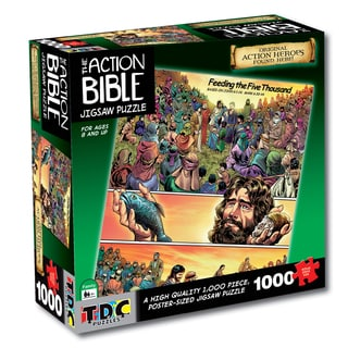 Feeding the Five Thousand' Bible Jigsaw Puzzle