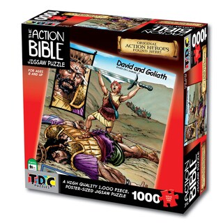 David and Goliath' Bible Jigsaw Puzzle
