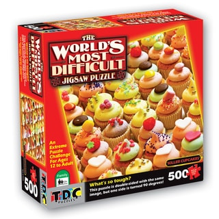 Killer Cupcakes World's Most Difficult Puzzle