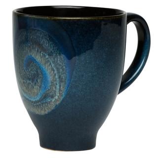 Red Vanilla Organic Blue 16-ounce Mugs (Set of 8)
