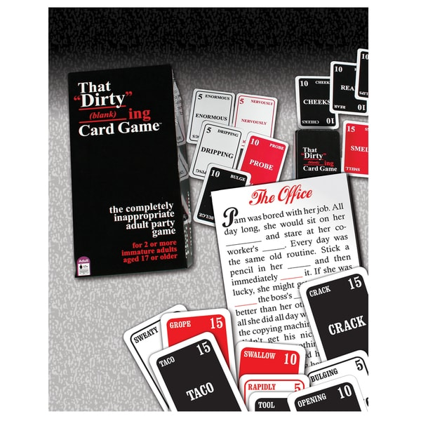 TDC Games That DIRTY Blanking Card Game
