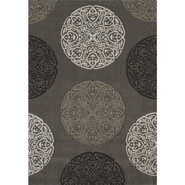 "Townshend London Stone Hand Carved Area Rug (7'10"" x 11'2"")"