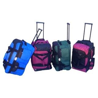 RivoLite 22-inch Rolling Carry-on Upright Duffel Bag