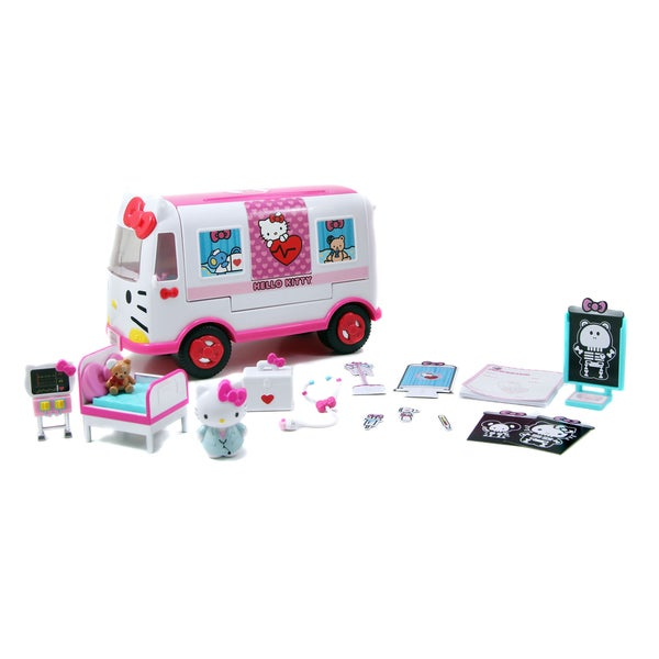Jada Toys Hello Kitty Emergency Ambulance