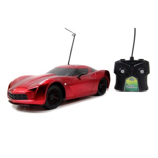 HyperChargers 1:16 2009 Chevy Corvette Remote Control Car