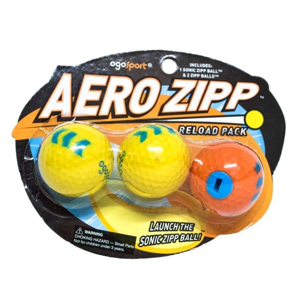 OgoSport Aero Zipp Ball Refill 2 Pack Bundle
