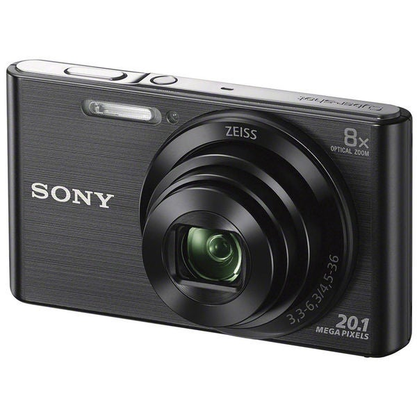 Sony DSC-W830 20MP Black Digital Camera