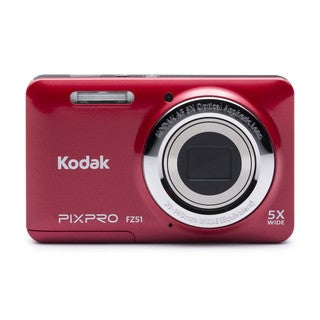 Kodak PIXPRO FZ51 16MP Red Digital Camera