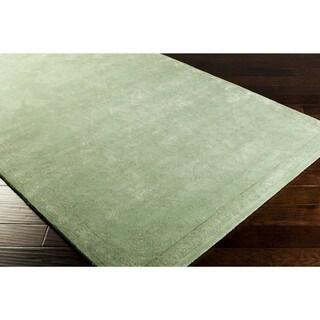 Hand-tufted Haleigh New Zealand Wool Rug (5' x 8')
