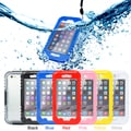 Gearonic Waterproof Heavy Duty Back Full Cover Case for Apple iPhone 6