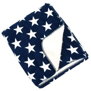 Star Design Sherpa Baby Blanket