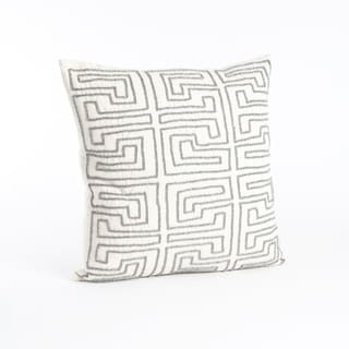 Maize Design Down Filled 18-inch Beaded Throw Pillow