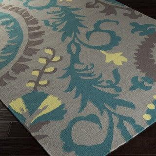 Bienne Flatweave Floral Accent Rug (2' x 3')