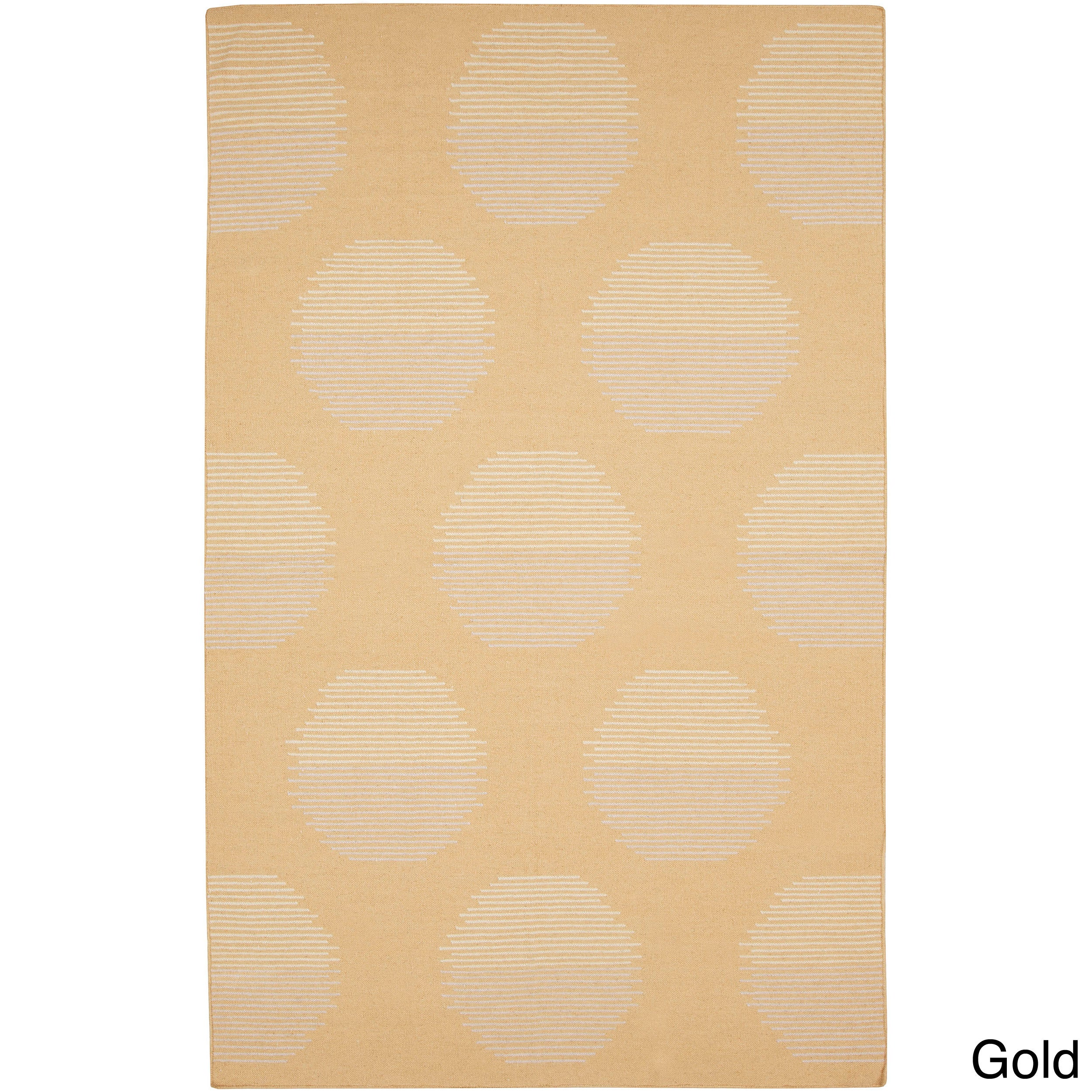 Overstock.com Hand-woven Vernon Flatweave Wool Rug (8' x 11') at Sears.com