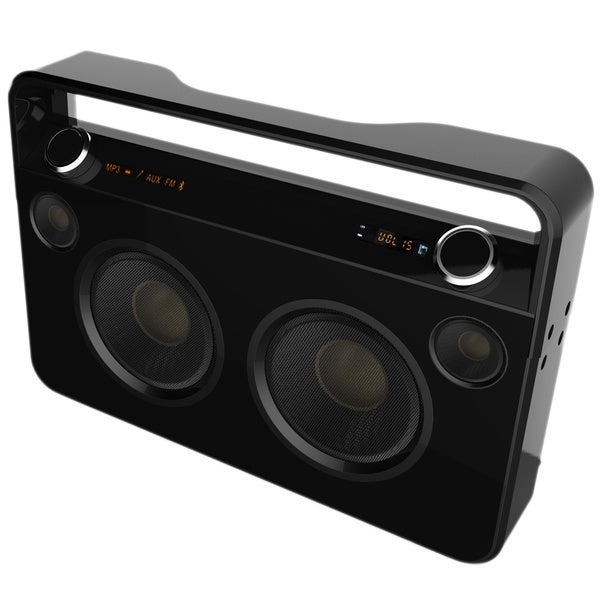 Supersonic Bluetooth Boombox Black
