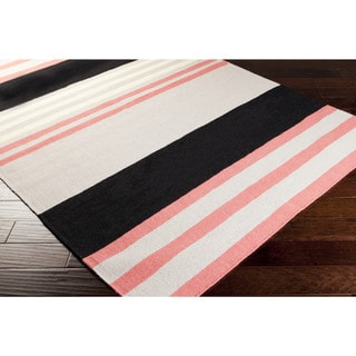 Hand-woven Patsy Wool Area Rug (2' x 3')