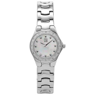 ESQ by Movado Women's 7100876 Intrigue Light Blue Mother of Pearl Watch