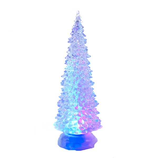 Kurt Adler 12.25-inch Battery-operated LED Light Tree Tablepiece