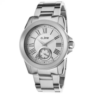 A Line Women's Amare Stainless Steel Silver Dial Quartz Watch
