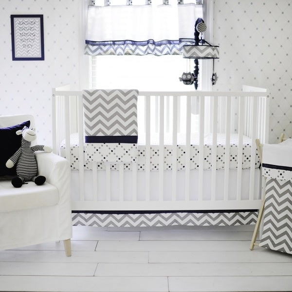 My Baby Sam Out of the Blue 3-piece Crib Bedding Set 14119285