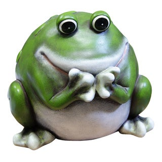10-inch Frog Statue