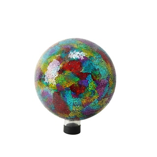 10-inch Multicolored Mosaic Gazing Globe