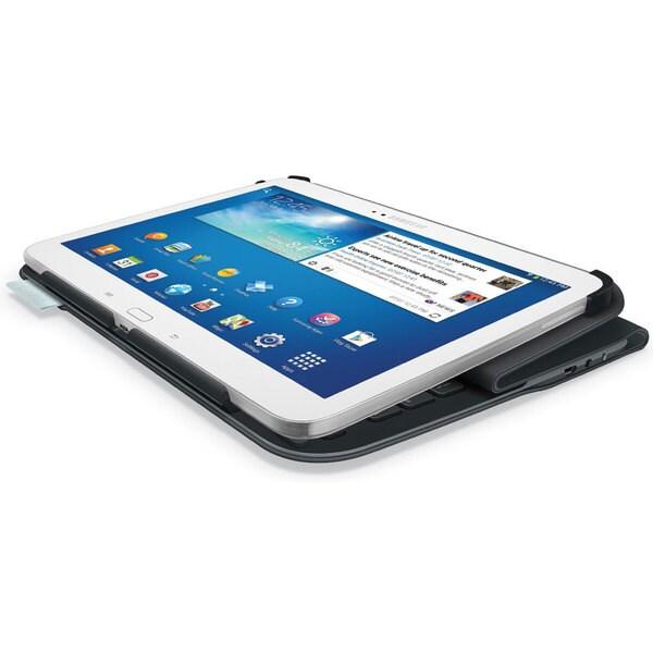 Logitech Ultrathin Keyboard Folio Case for 10.1-inch Samsung Galaxy Tab 3 (Refurbished)